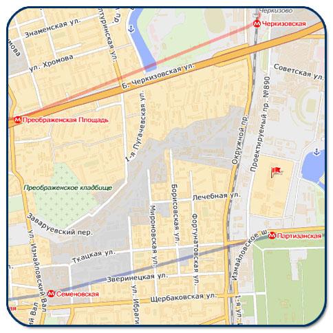 АвтоКомплит-схема проезда